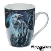 LISA PARKER Guidance Wolf Fantasy Mug